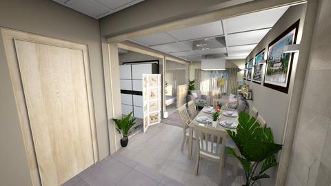 BeachResidence - Modern - Living room - by iamthearchitect
