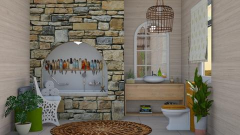 Birds  - Bathroom - by augustmoon