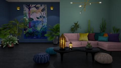 Moroccan Landscape - Eclectic - Living room - by ScillaSiberica