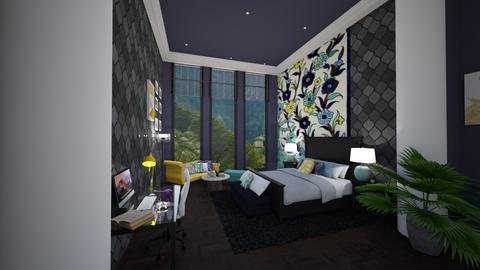 mural bedroom - by Amal Soloman