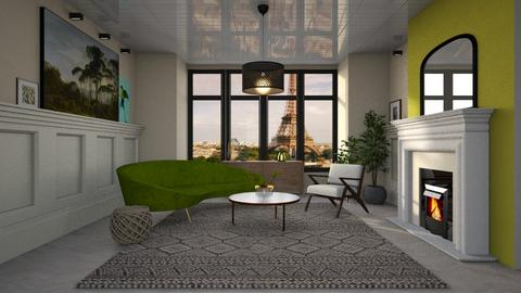 Template Baywindow Room - Classic - Living room - by tolo13lolo