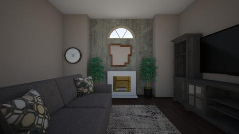Mid century living room  - Living room - by machannel12