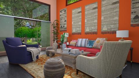 Bo - Global - Living room - by tina45