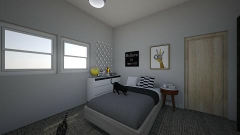 My new BEDROOM - Retro - Bedroom - by rocio_ceron