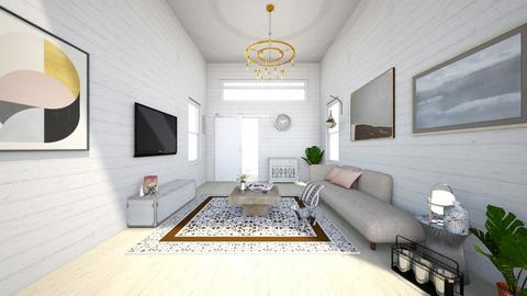 cozy and minimal - Minimal - Living room - by asfaarissa