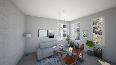 Stockholm from above - Living room - by LaV interior