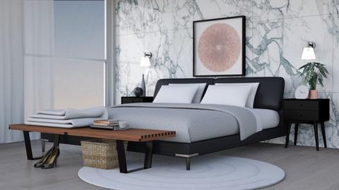 Manhattan bedroom - Bedroom - by gabriellemae19