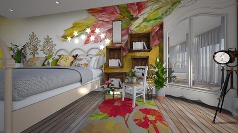bohemio2 - Bedroom - by ana111