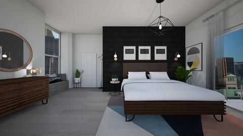 mcm  - Bedroom - by ElysiaNirel