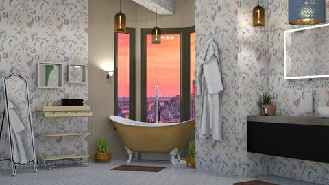 Quirky Bathroom - Eclectic - by timeandplace