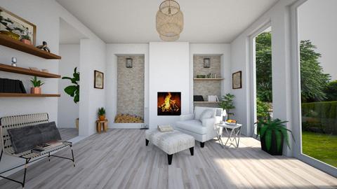 Citizen Oak Room - Living room - by Sarah Anjuli Gailey