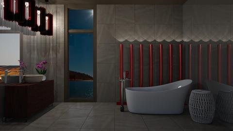 Browny Bath - Modern - Bathroom - by 3rdfloor