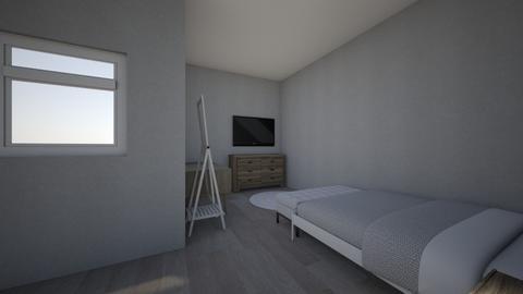 My room - Modern - Bedroom - by Isabellah3116