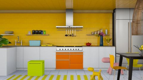 Kitchen ModernPlayful - by Laura_Barsa