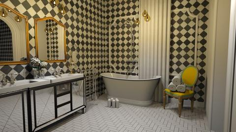 parisian vintage  - Vintage - Bathroom - by Ripley86