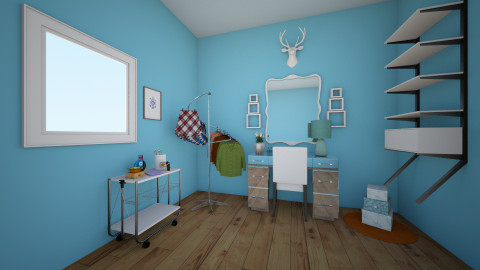 Beauty Bloggers Den - Office - by jadebeal