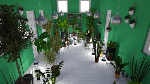 Jungle Hallway - by Alima5A