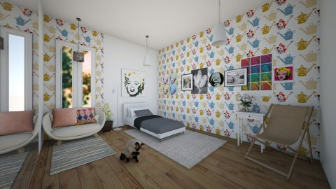 Marilyn Monroe Bedroom - Bedroom - by Sunny Bunny