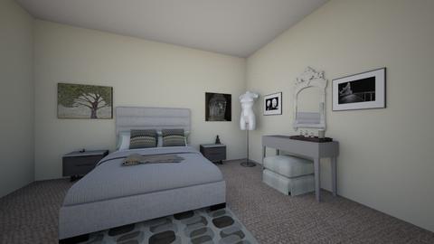 Earthly Bedroom - Minimal - Bedroom - by ashashbaebee