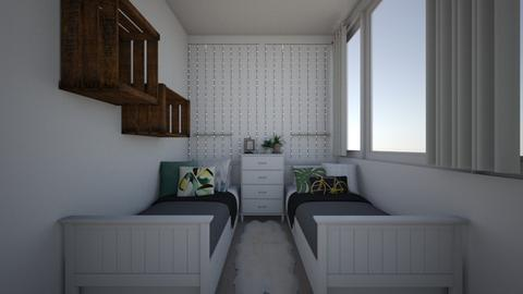 room - Bedroom - by thirzamak