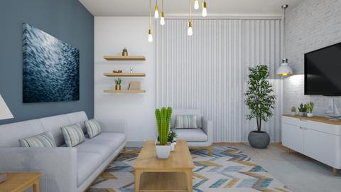 1044 3 - Eclectic - Living room - by Riki Bahar Elbaz