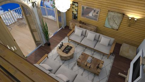Happy villa 2 - Modern - Living room - by The quiet designer