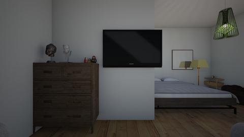 electic bedroom - Bedroom - by sesdrf