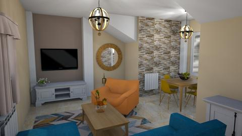 For Dhul - Living room - by gaietta_aa