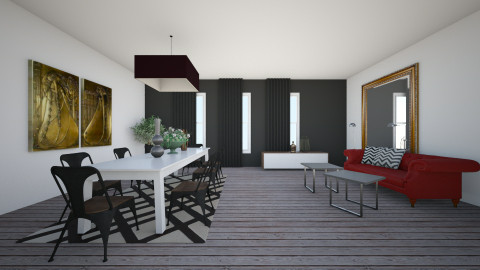 living room chic - by valcarona
