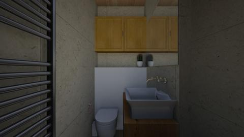 LS Slate Split - Bathroom - by RachDyer