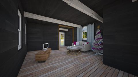 beach house draft - Living room - by laneciathomas