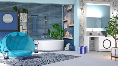 Nautical br - Bathroom - by milyca8