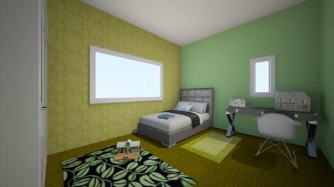 boys Green - Bedroom - by thomas150