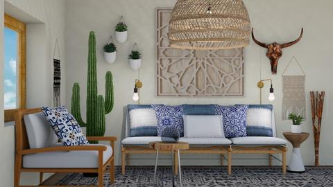 Boho Living - Eclectic - Living room - by switte94