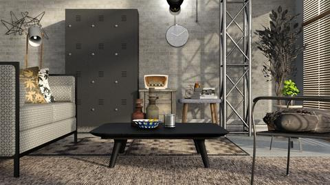 Metal - Living room - by ZuzanaDesign