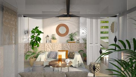 Plants in the Living Room - by ariema