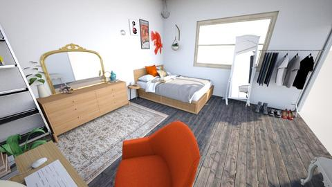 Humble abode 19 - Eclectic - Bedroom - by Silversliver