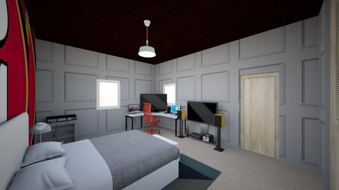 my dream bedroom - Bedroom - by Villai21