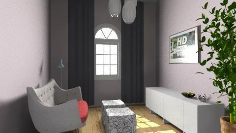 Little cinema - Living room - by Kaarina