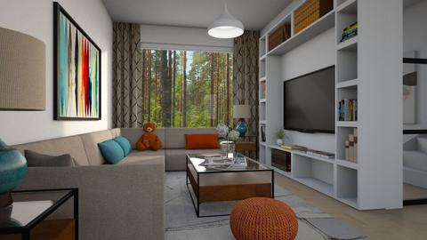 For floorrie89 I - Eclectic - Living room - by Theadora