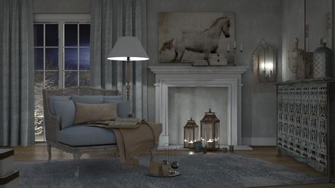 My Haunt - Vintage - Living room - by Artem Vivendi