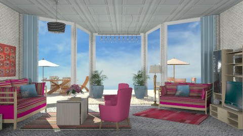 House on the beach - Eclectic - by milyca8