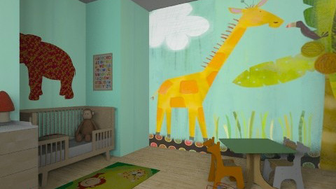 mum jungle - Kids room - by camidome