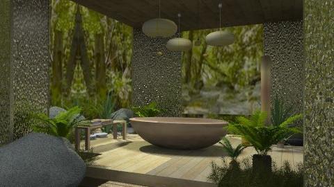 lake - Bathroom - by chania