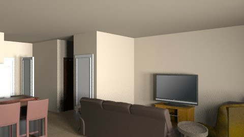 Dining Area into living room - Retro - Hallway - by russell_brandon