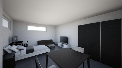 BedRoom - Minimal - Bedroom - by Hitchens