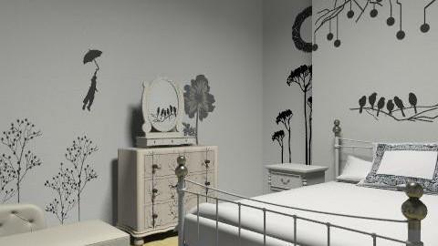 ghudtrukmrtunfgfd8u,rfth - Vintage - Bedroom - by bubbleboa