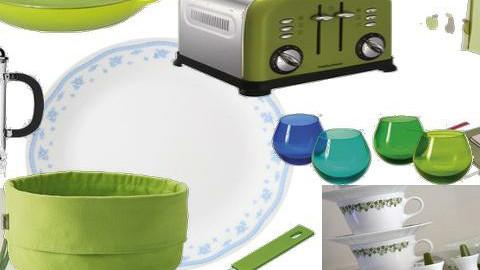 Green Kitchen - Eclectic - Kitchen - by Taffy DeJarnette