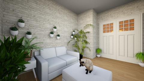 Fern Aesthetics - Living room - by Birb