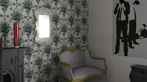 My Room of the hell 12 - Dining Room - by Esnach
